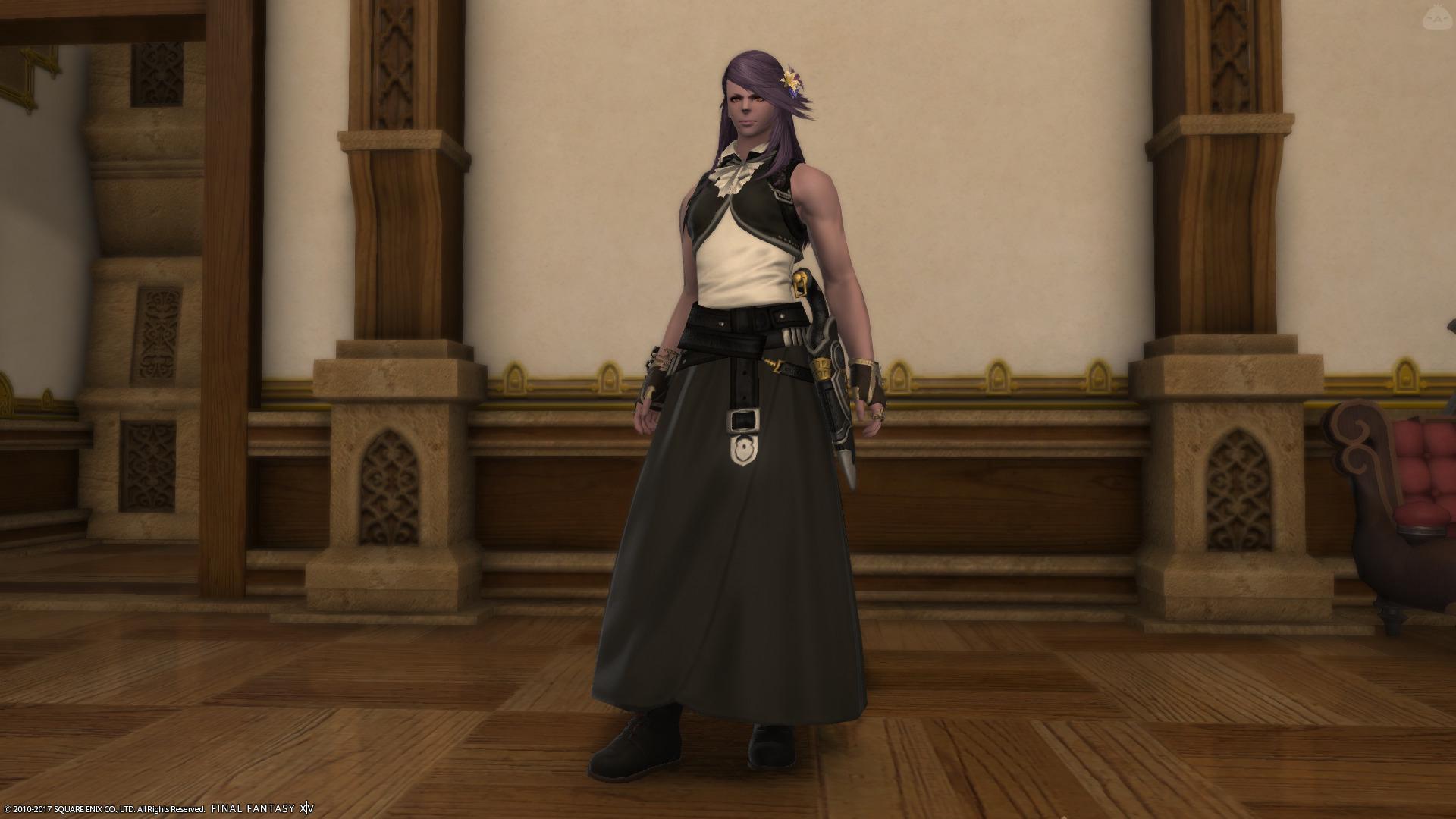 スカートが似合う系ルガディン