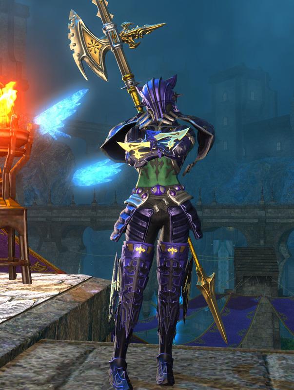 紫プラモの竜騎士
