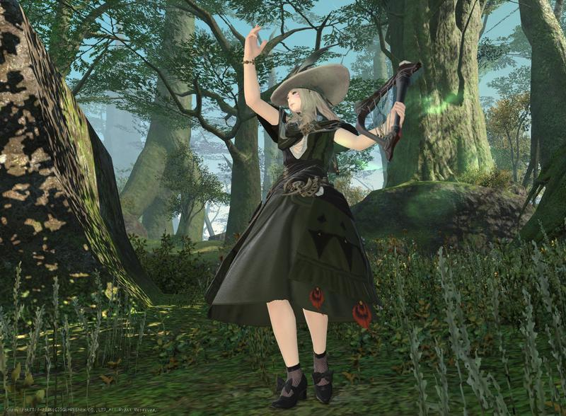 森に愛されし美声の少女