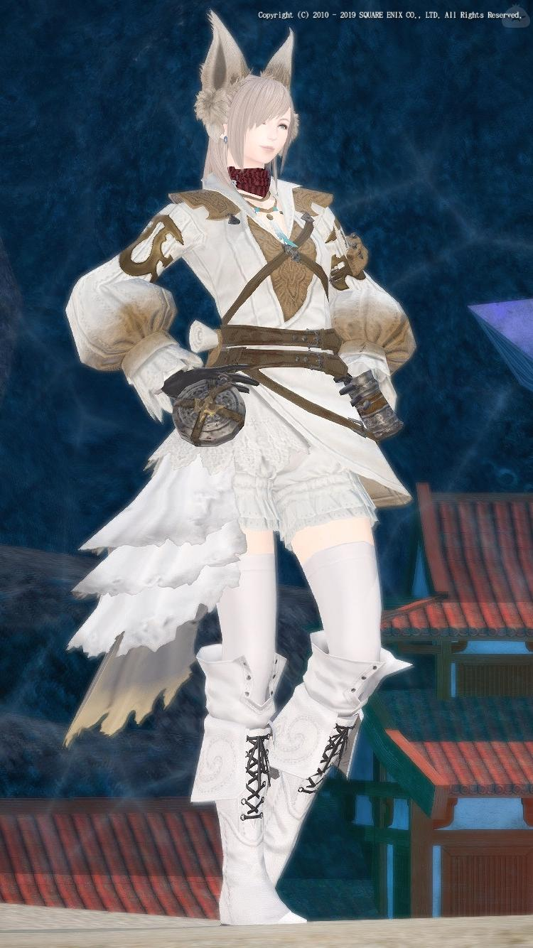 White × Expeditioner's Tabard