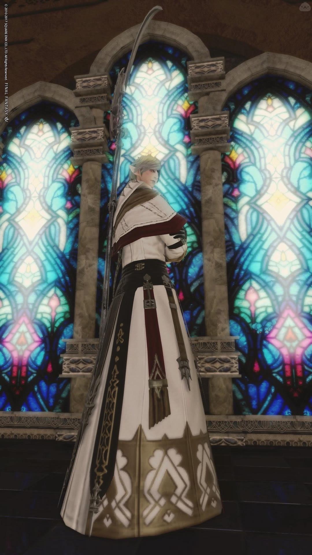 鎌と聖職者