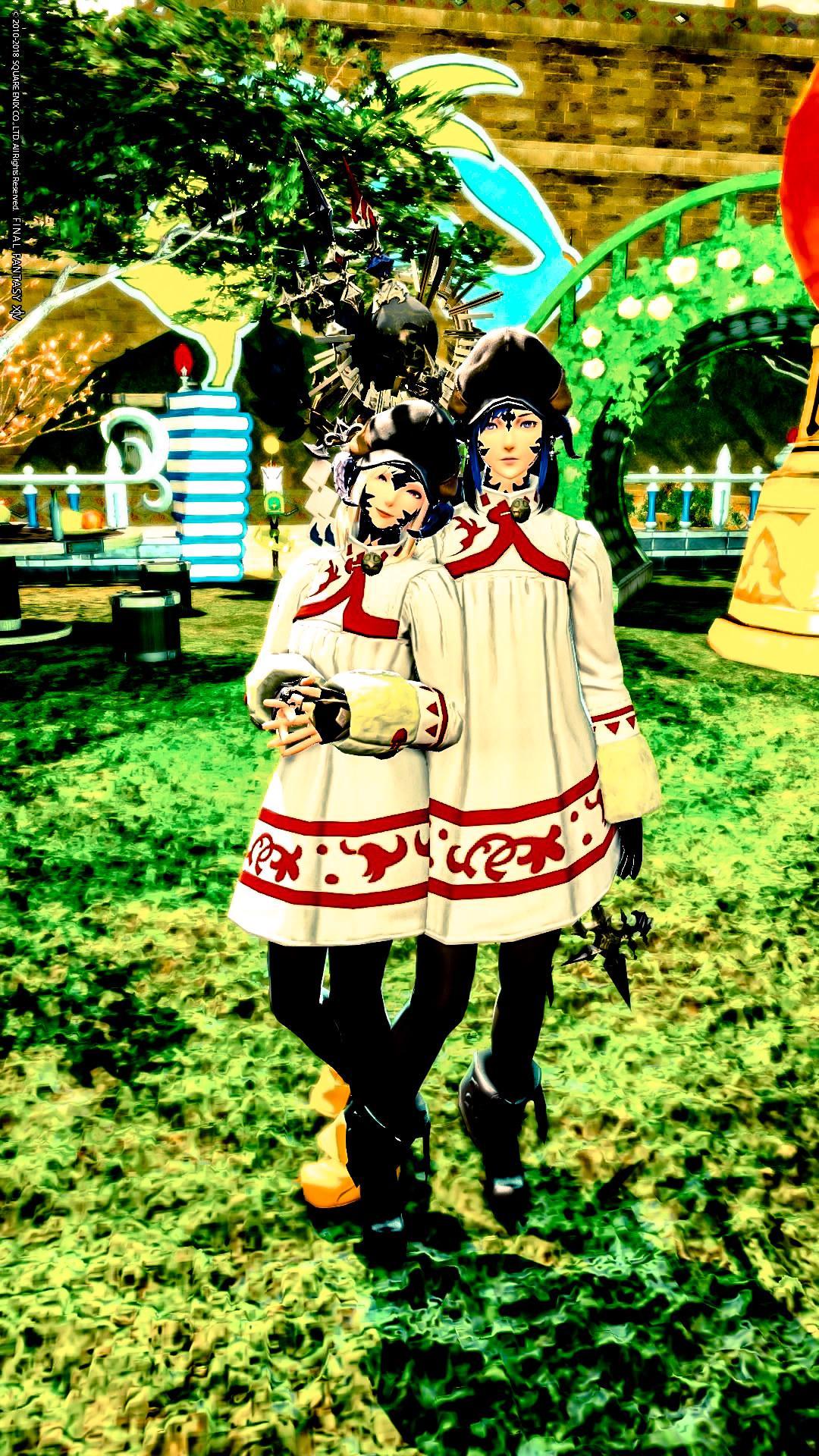 姉妹冬ミラプリ