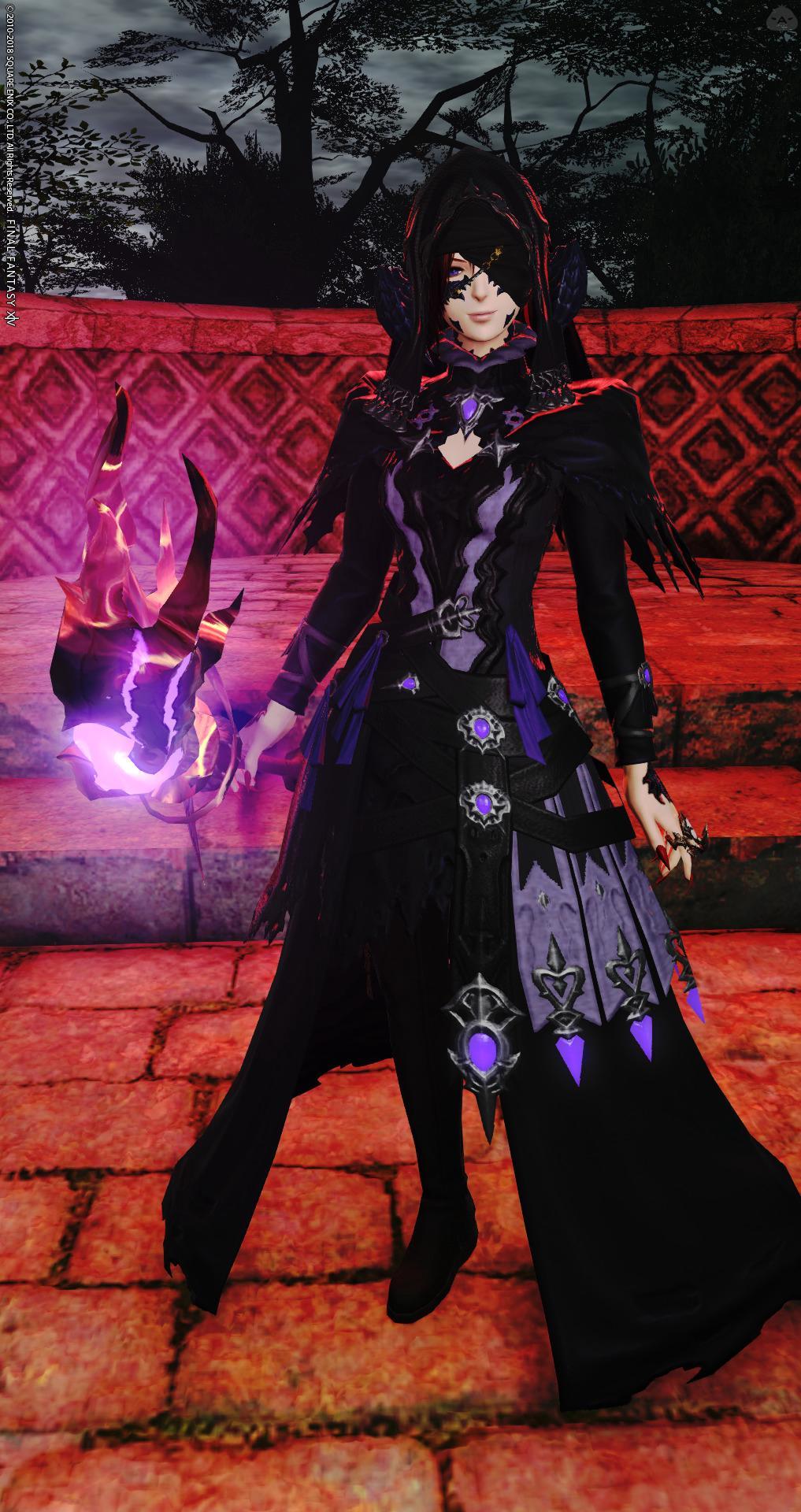 妖しい黒魔導士