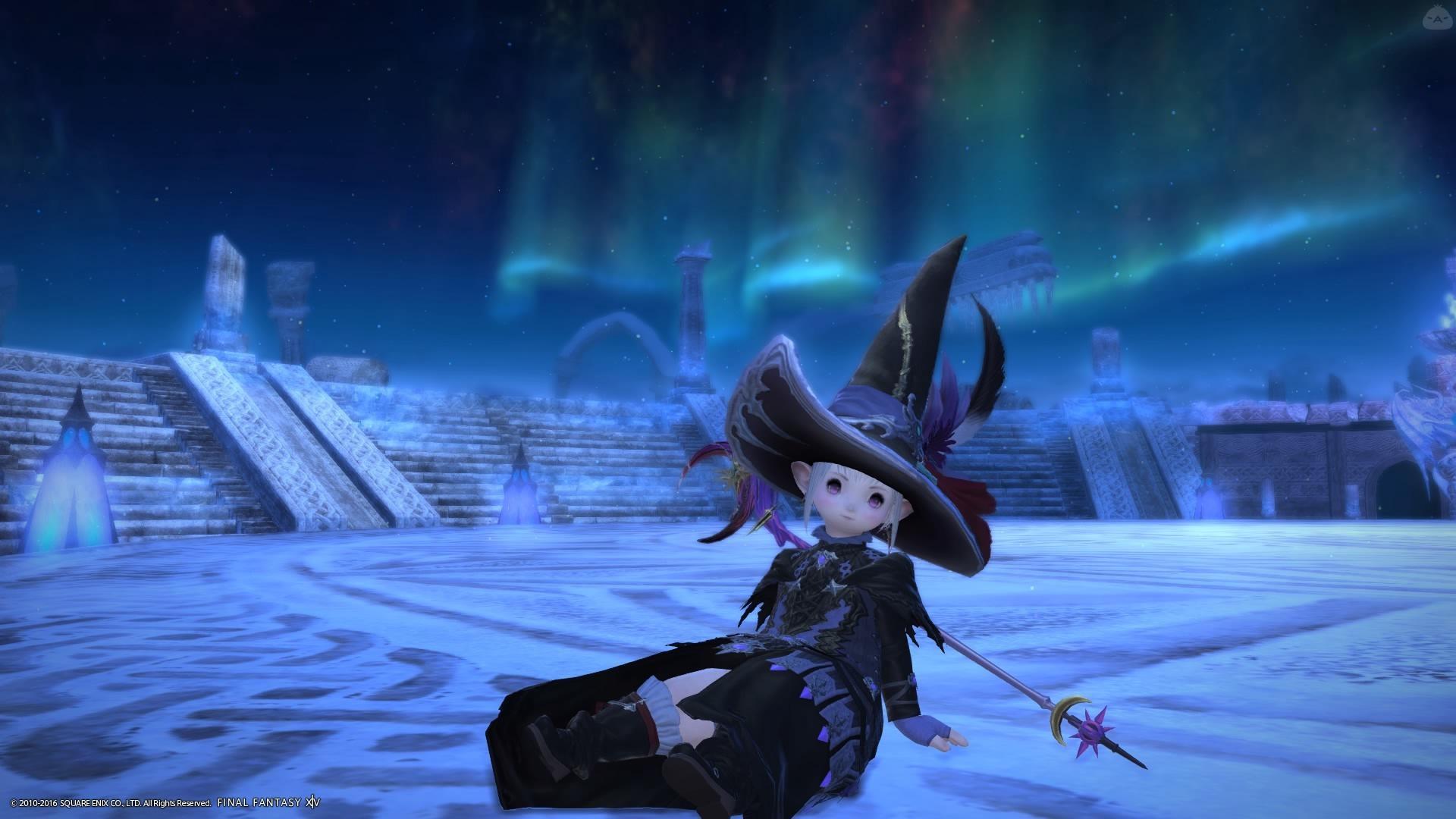 とんがり帽子の魔法使い