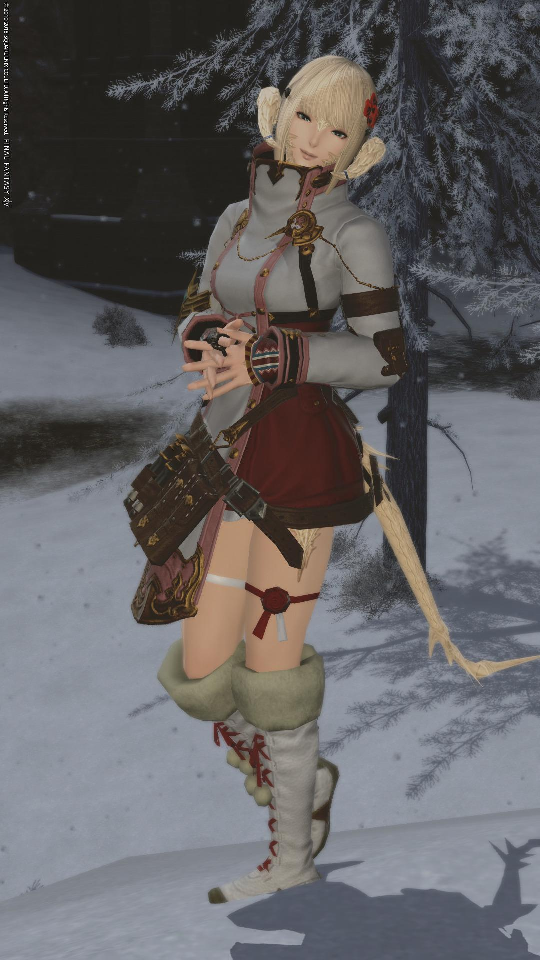 紫水宮脚装備の真の可愛さ(冬モデル)