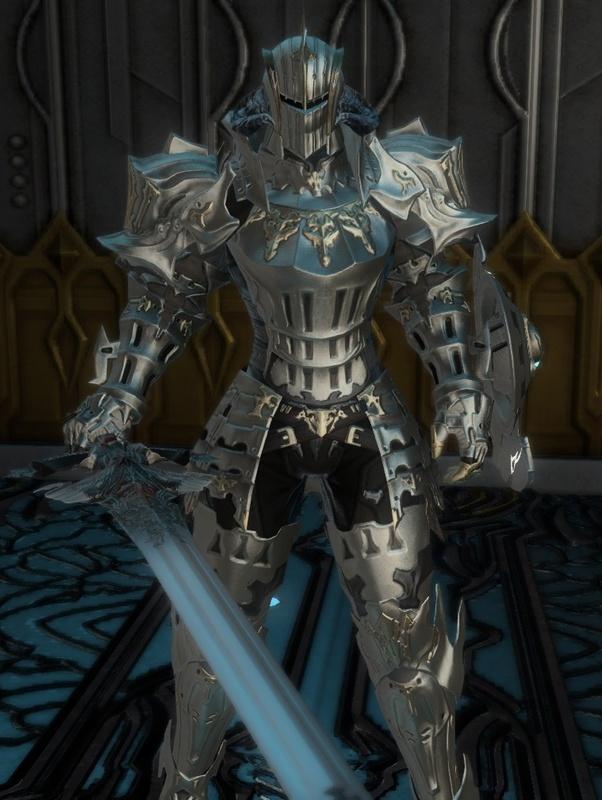 立ちはだかるアラグの騎士