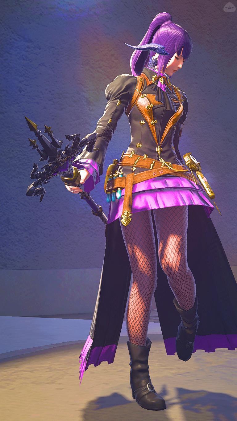 紫の魔法使い