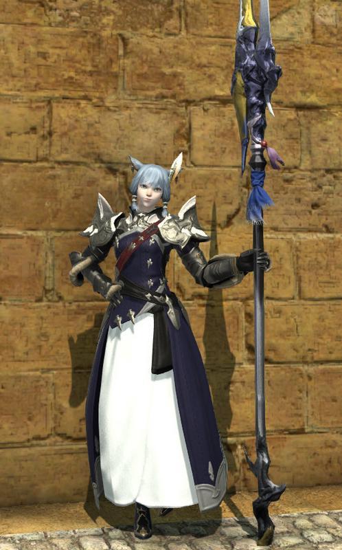 正統派姫騎士風