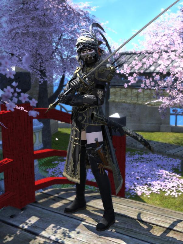 異国風の剣士