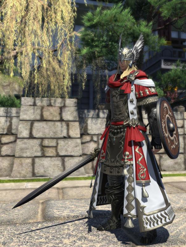 ローマ兵風騎士