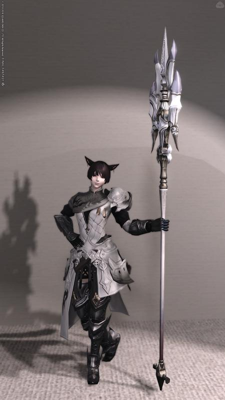 白虎イメージの竜騎士