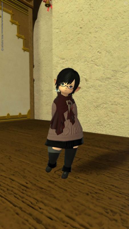 流行りのセーター