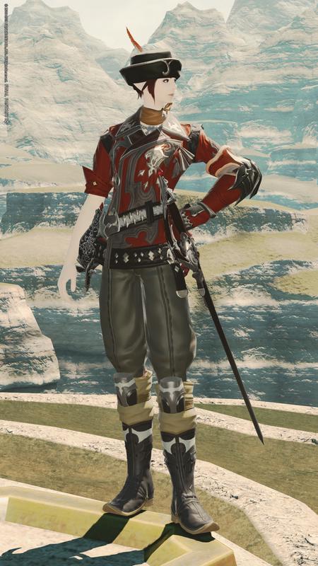 軽騎兵風赤魔道士