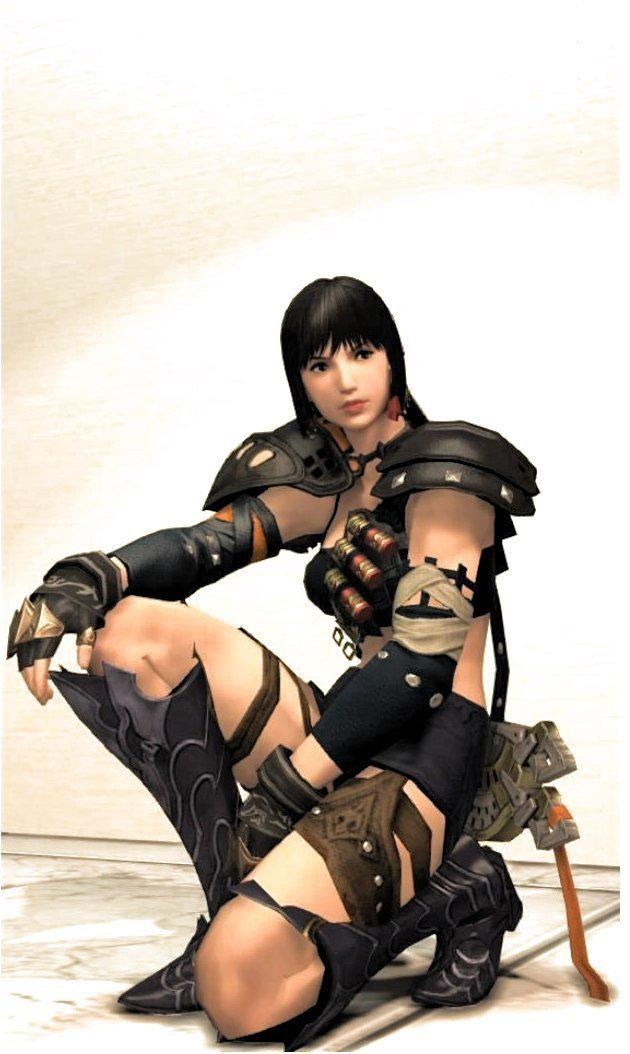 東方系ハイランダー女戦士