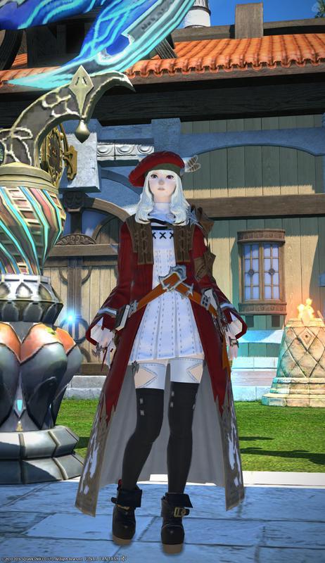 召喚士ファッション
