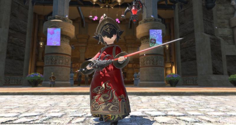 東方のおもちゃ剣士