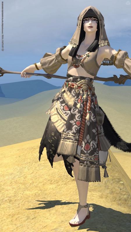砂漠のアラビアンな巫女ッテ