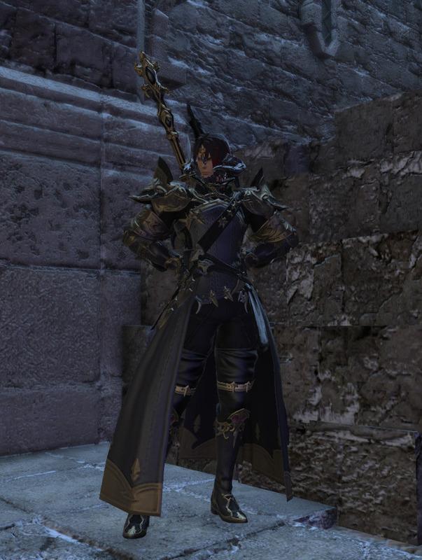 オーソドックスな暗黒騎士