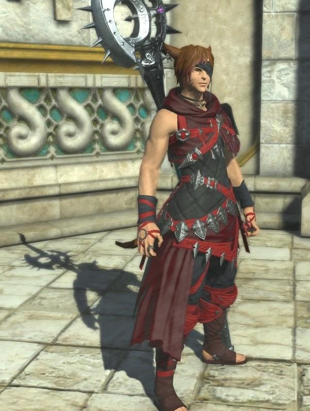 紅の軽装竜騎士