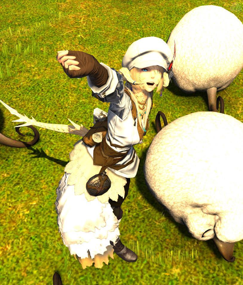羊飼いの冒険者