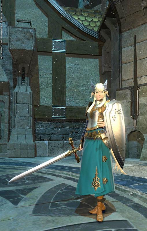碧の聖騎士