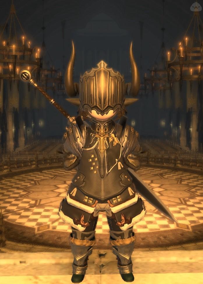 目隠れ暗黒騎士