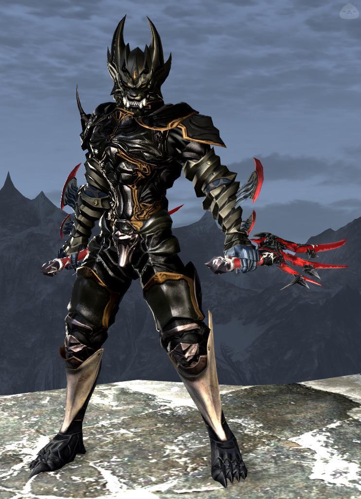 黒狼の怪人
