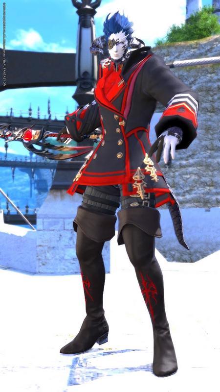 黒渦の魔法剣士