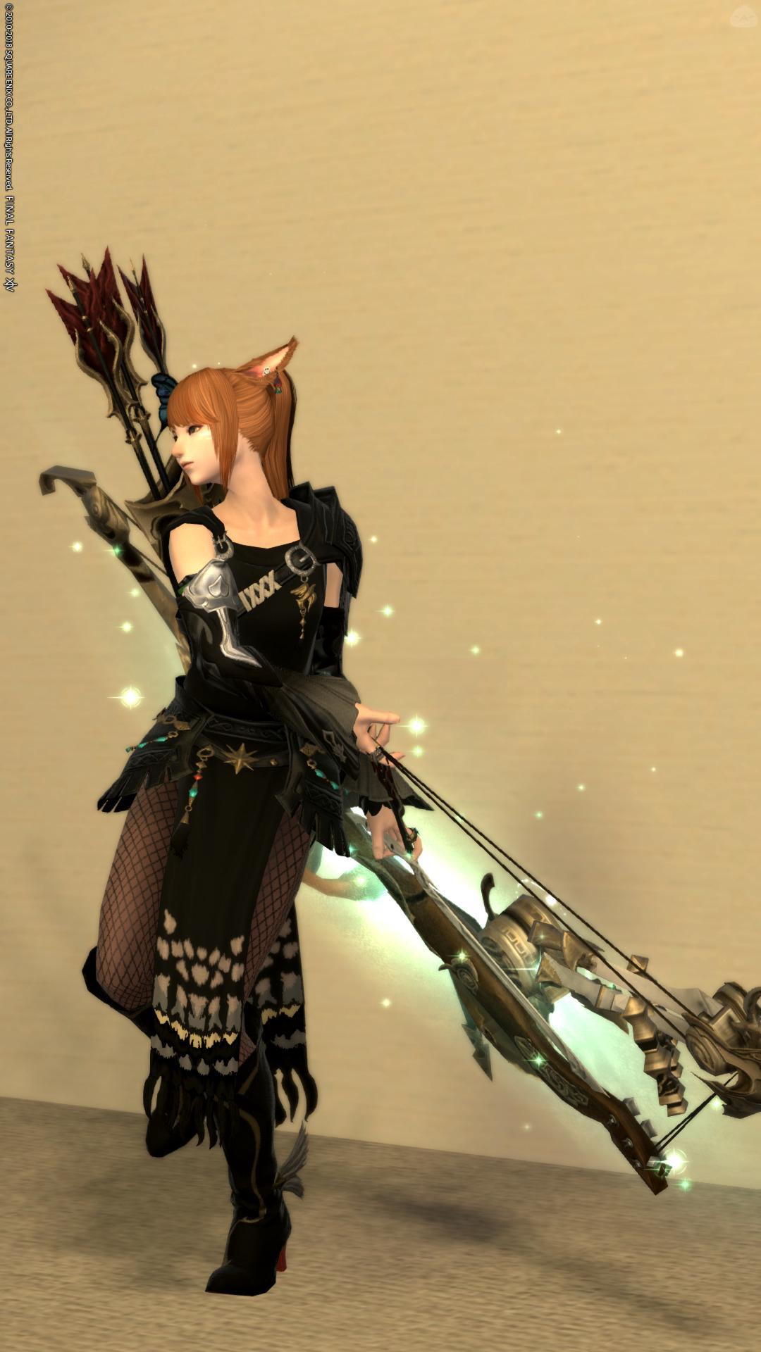Noir archer