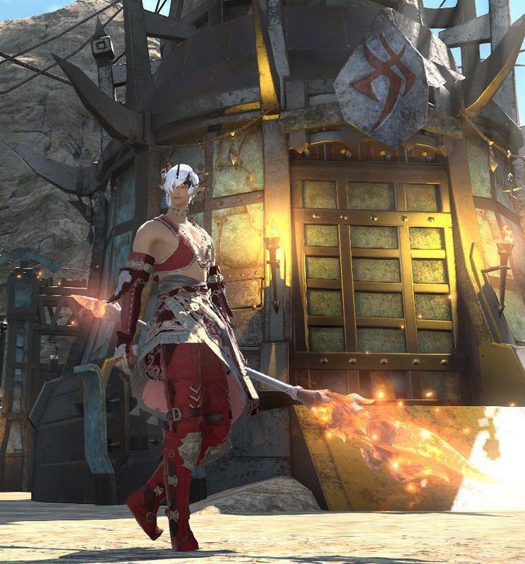 テンパードミラプリ:イフリート配下、焔の槍使い