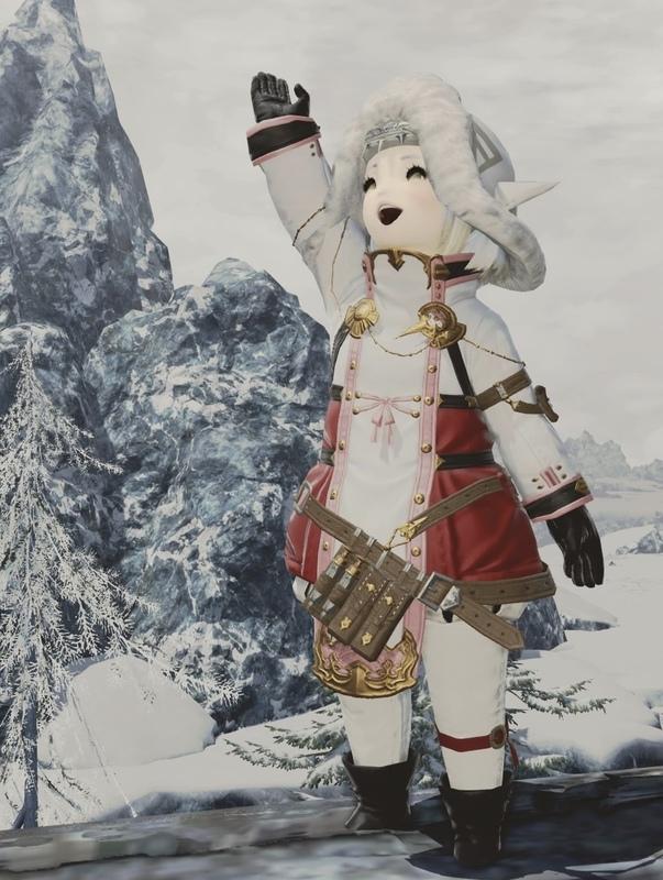冬仕様白ちゃん