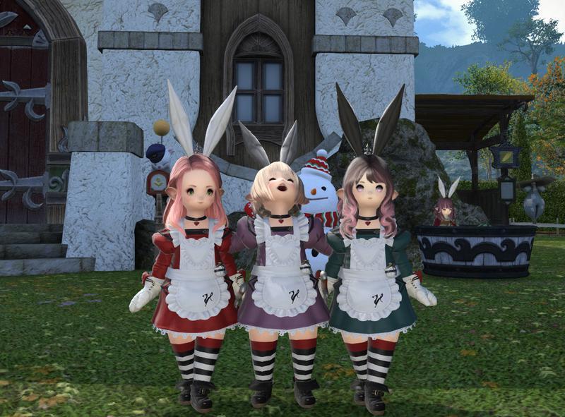 うさ耳メイド3姉妹
