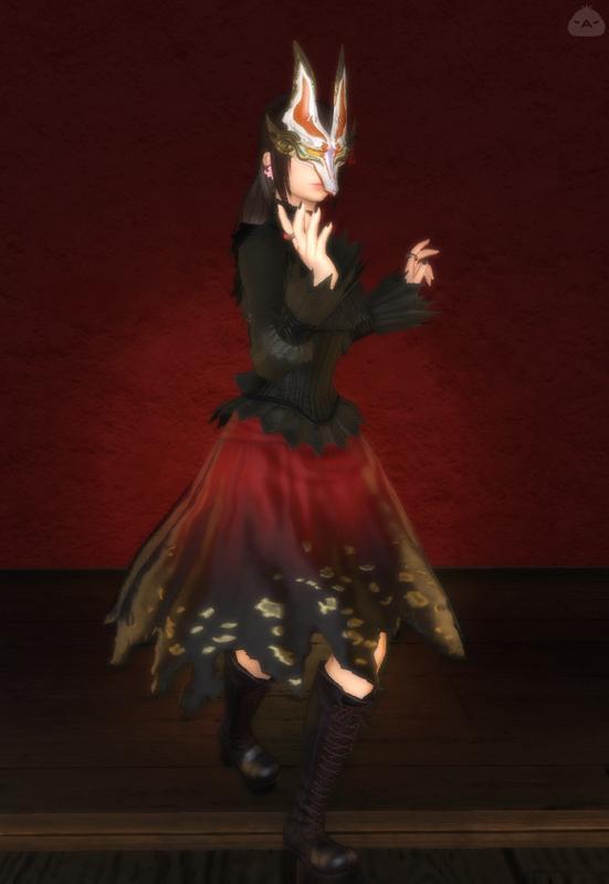 某メタルダンス・ユニット風の衣装