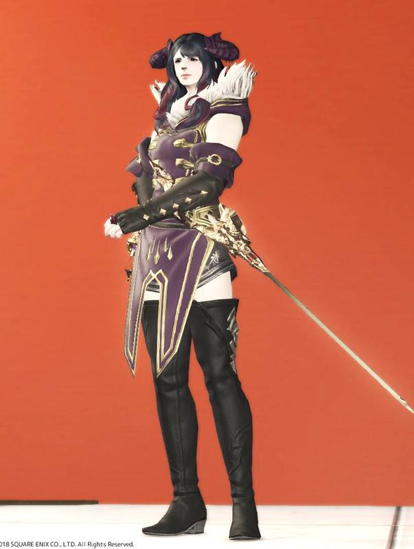 紫衣の細剣使い