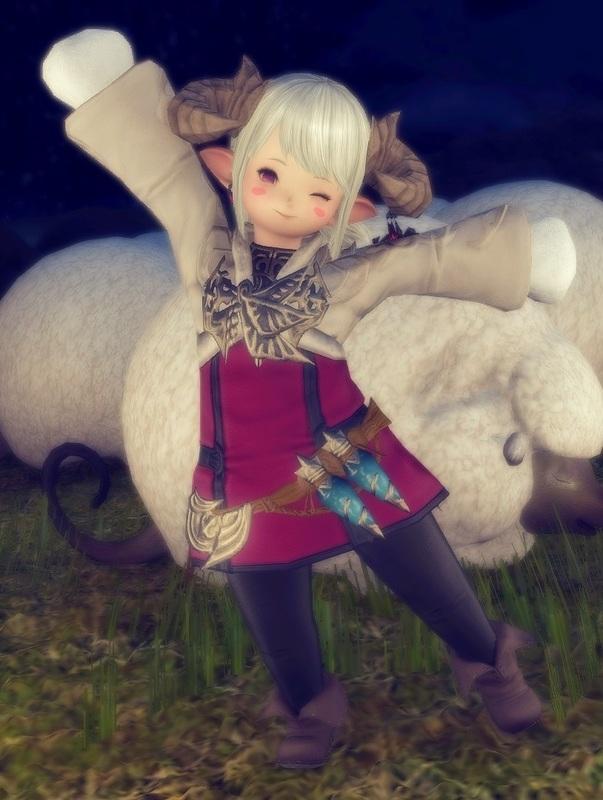 羊っ子…?