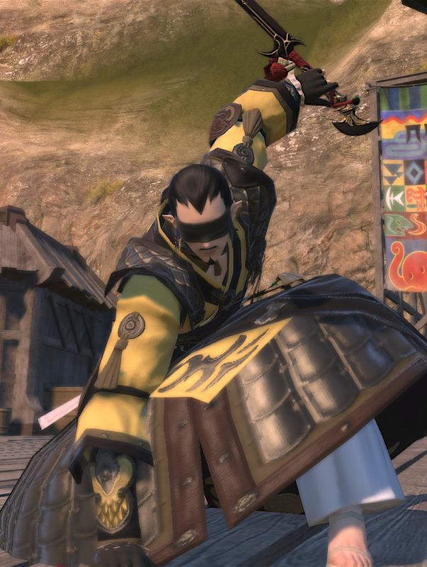 るろ剣「十本刀」より、盲剣の宇水さん