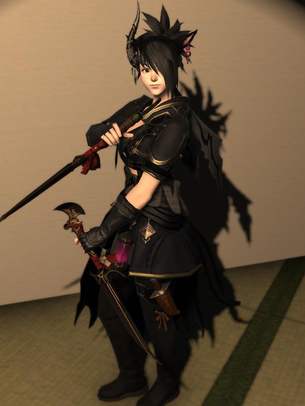 黒の双剣使い