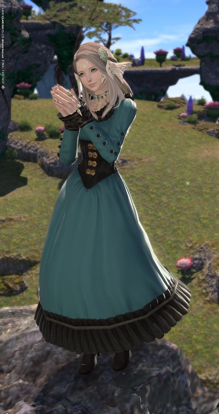 駒鳥のドレス