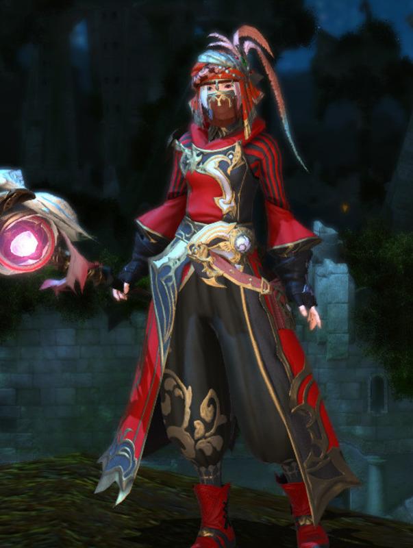 紅色の呪術師