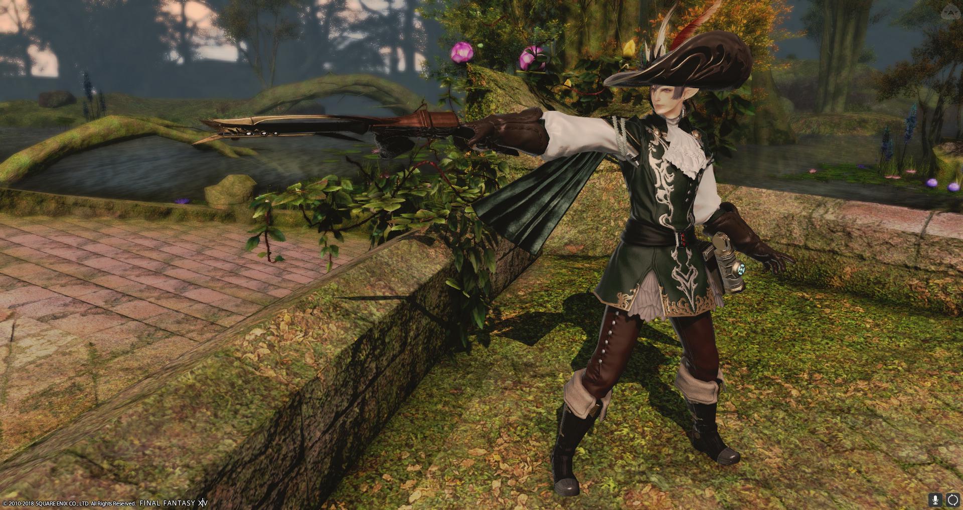 森林警護隊の銃士
