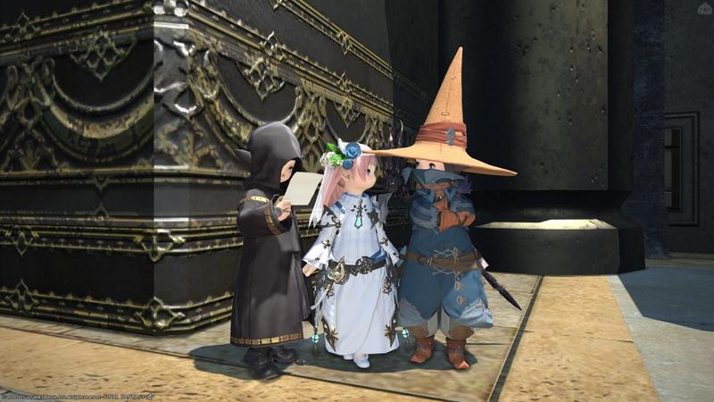 黒ちゃん姫騎士風ミラプリ