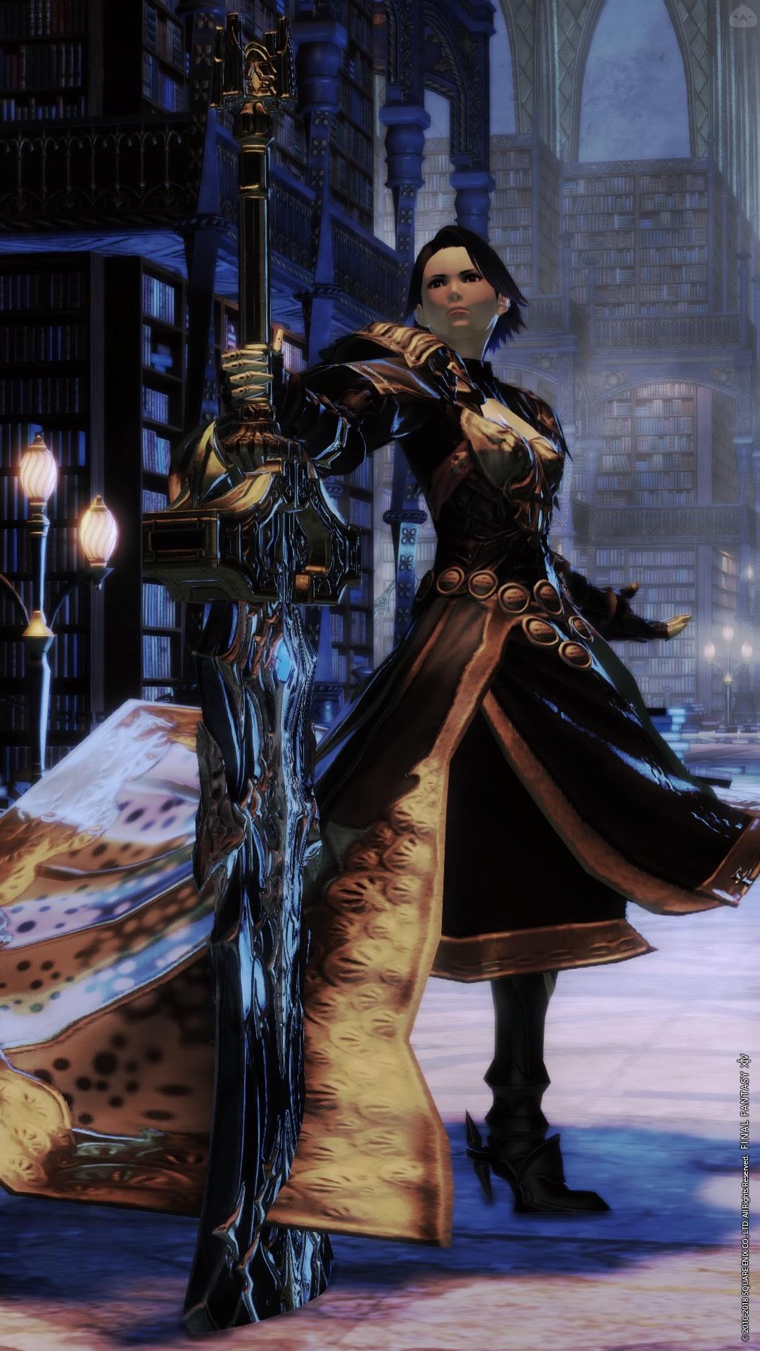 すそ引きずり系暗黒騎士