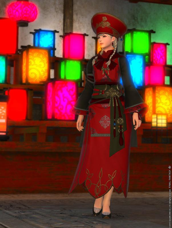 中華風のドレス