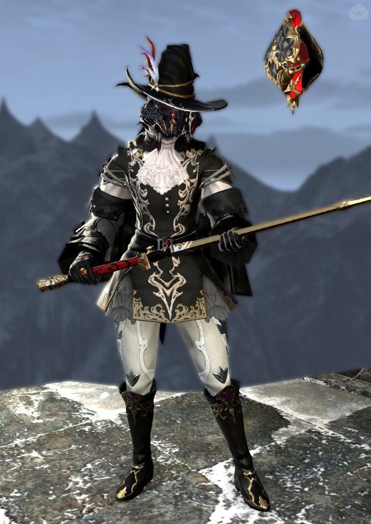 貴族風魔道士