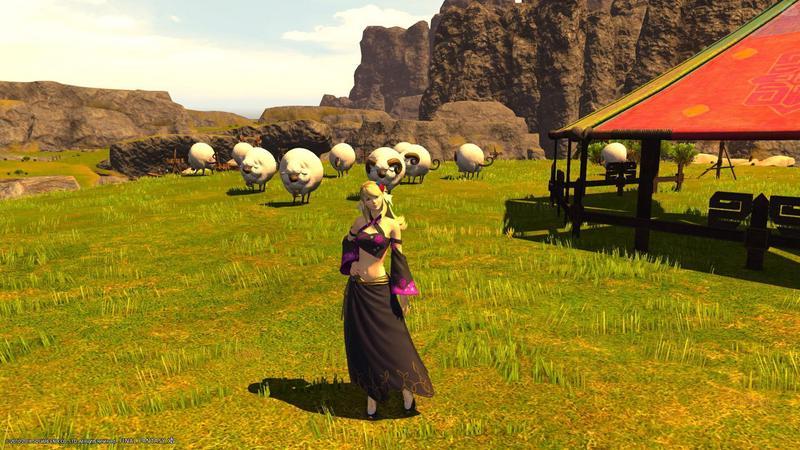 赤魔道士と羊