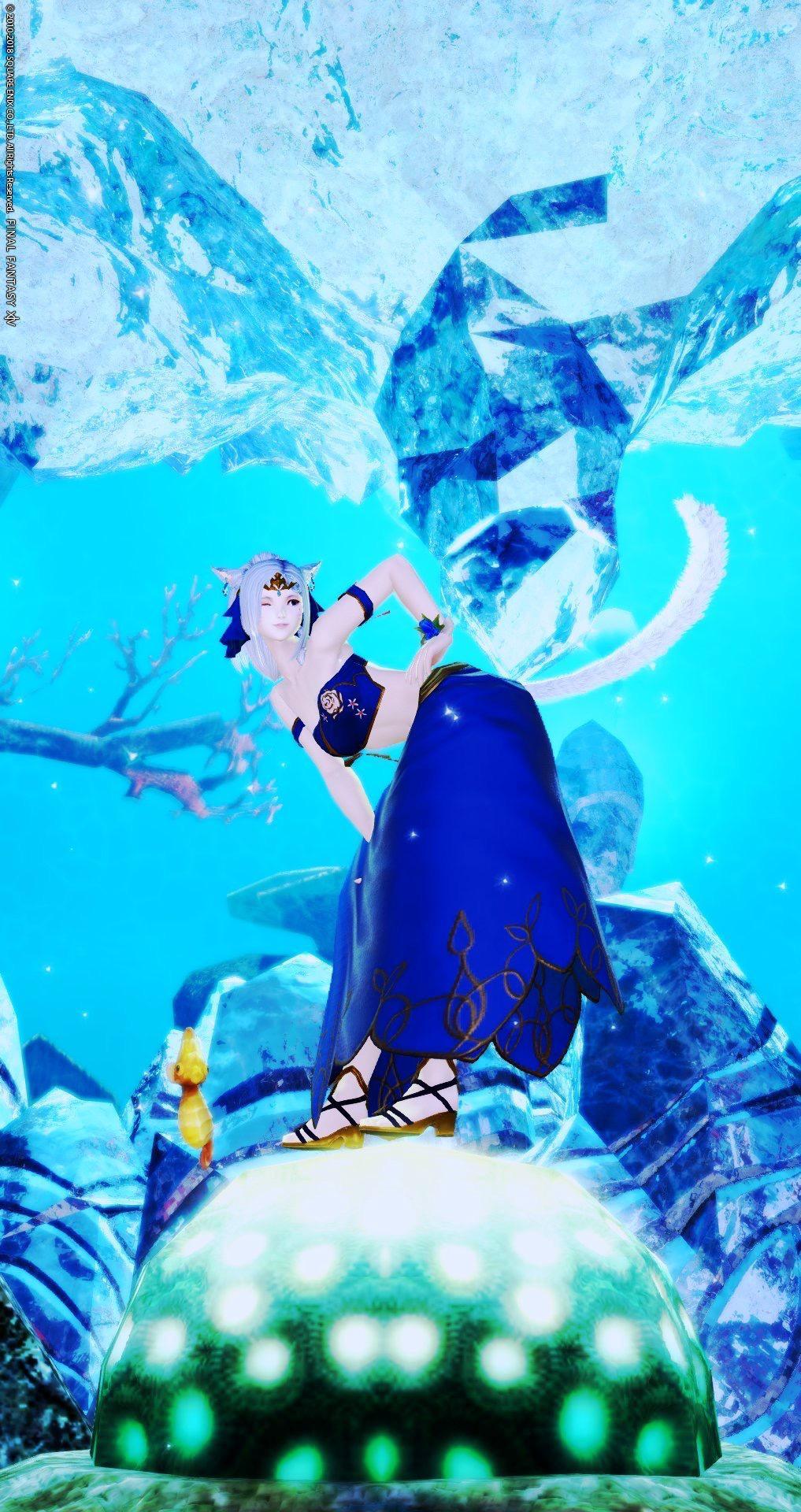 碧のタマミズの人魚姫