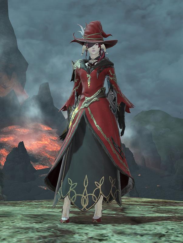 剣と魔法と赤