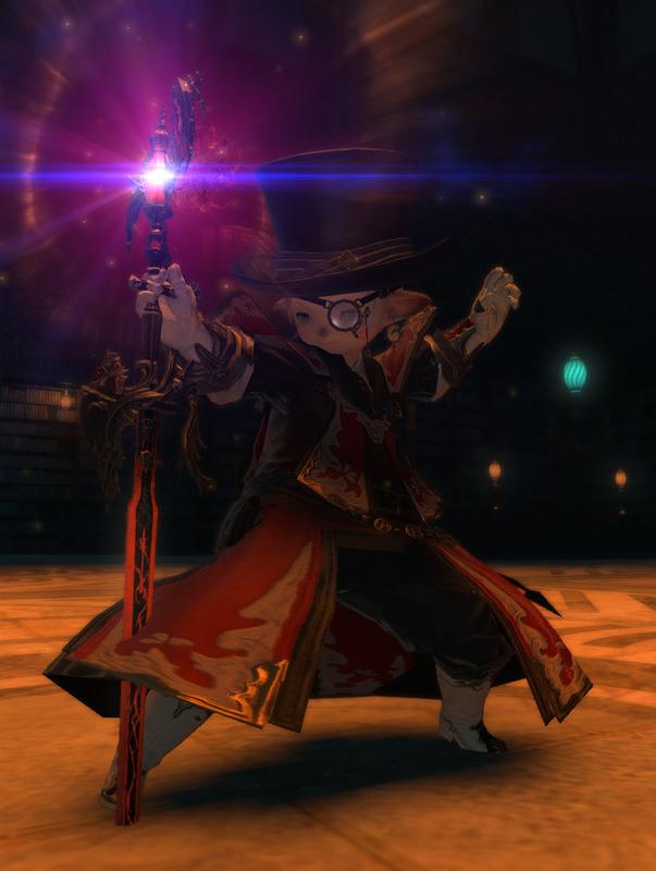 赤の魔剣士