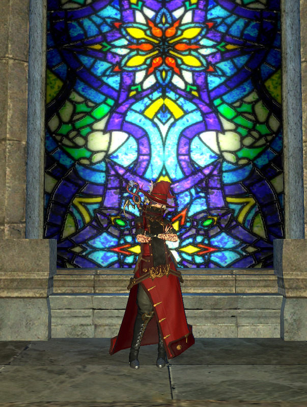 赤い黒魔導士