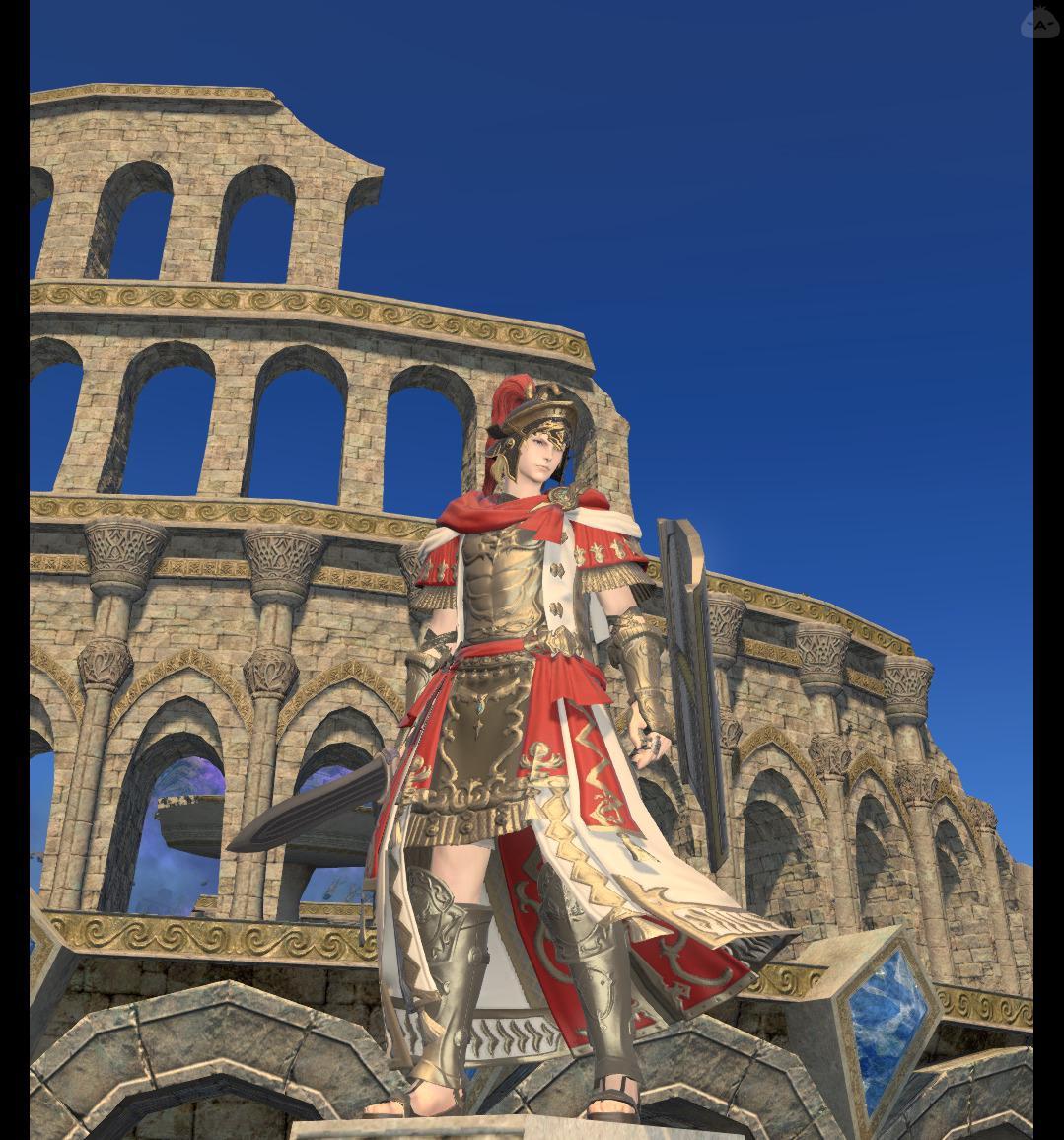 古代ローマ 軍団長のような何か